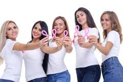 Η έννοια της υγείας και η πρόληψη του καρκίνου του μαστού Στοκ Εικόνες