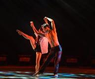 Η έννοια του χορού αγάπη-πανεπιστημιουπόλεων Στοκ Εικόνα