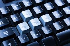 η έννοια υπολογιστών εισάγει το interrrogation που η βασική ερώτηση πληκτρολογίων αντικαθιστά κίτρινο Στοκ εικόνες με δικαίωμα ελεύθερης χρήσης