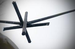 Η ένωση από armature σιδήρου είναι το σύμβολο του unfreedom, της στέρησης και των στρατοπέδων συγκέντρωσης Στοκ φωτογραφίες με δικαίωμα ελεύθερης χρήσης