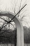 Η ένωση από armature σιδήρου είναι το σύμβολο του unfreedom, της στέρησης και των στρατοπέδων συγκέντρωσης Στοκ Φωτογραφία