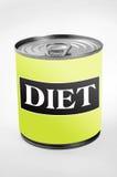 Λέξη διατροφής Στοκ Εικόνες
