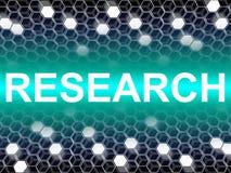 Η έρευνα Word σημαίνει τα στοιχεία και την ανάλυση διανυσματική απεικόνιση