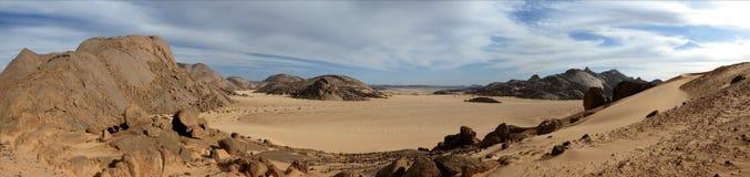 Η έρημος Σαχάρα Στοκ φωτογραφία με δικαίωμα ελεύθερης χρήσης