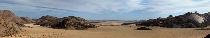 Η έρημος Σαχάρα Στοκ Εικόνες