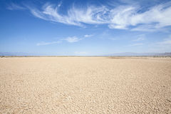 Η έρημος της Καλιφόρνιας Στοκ Εικόνες