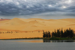 Η έρημος Muine στο Βιετνάμ Στοκ Φωτογραφίες