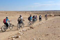Η έρημος Negev - Ισραήλ Στοκ Φωτογραφίες
