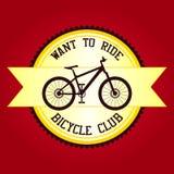 Η λέσχη ποδηλάτων θέλει να οδηγήσει Στοκ Φωτογραφία
