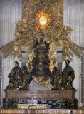 Η έδρα του ST Peter, ως θρόνος του ST Peter (Bernin Στοκ Εικόνα