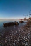 Η ήρεμη θάλασσα της Βαλτικής Στοκ Εικόνες