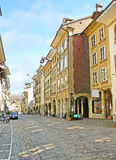 Η ήρεμη οδός της Βέρνης Στοκ Εικόνα