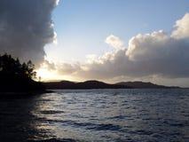 Η λίμνη βραδιού Στοκ Φωτογραφία