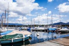 Η λίμνη Ζυρίχη είναι μια λίμνη στην Ελβετία Στοκ φωτογραφία με δικαίωμα ελεύθερης χρήσης