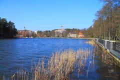 Η λίμνη σιωπηλή Στοκ εικόνα με δικαίωμα ελεύθερης χρήσης