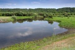 Η λίμνη στο δάσος Στοκ φωτογραφίες με δικαίωμα ελεύθερης χρήσης