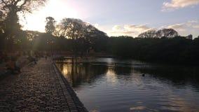 Η λίμνη χαλαρώνει Στοκ Εικόνα
