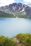 Η λίμνη Gjende Στοκ φωτογραφία με δικαίωμα ελεύθερης χρήσης