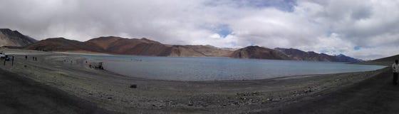 Η λίμνη Pangong στοκ εικόνα