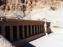 Η Αίγυπτος, ναός Hatshepsut Στοκ φωτογραφία με δικαίωμα ελεύθερης χρήσης
