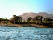 Η Αίγυπτος, ποταμός Nill Στοκ φωτογραφία με δικαίωμα ελεύθερης χρήσης