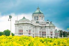 Η αίθουσα θρόνων Ananta Samakhom στο ταϊλανδικό βασιλικό παλάτι Dusit, Μπανγκόκ, Ταϊλάνδη Στοκ φωτογραφία με δικαίωμα ελεύθερης χρήσης