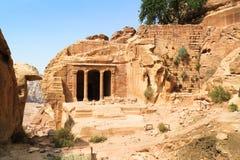 Η αίθουσα κήπων, Petra, Ιορδανία στοκ φωτογραφία με δικαίωμα ελεύθερης χρήσης