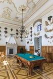 Η αίθουσα κυνηγιού του Castle που χρησιμοποιείται ως διάδρομος διέλευσης στη στοά Στοκ εικόνες με δικαίωμα ελεύθερης χρήσης