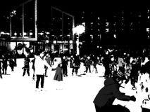Η αίθουσα παγοδρομίας στο πάρκο 6 του Bryant Στοκ εικόνα με δικαίωμα ελεύθερης χρήσης