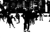Η αίθουσα παγοδρομίας στο πάρκο 10 του Bryant Στοκ φωτογραφία με δικαίωμα ελεύθερης χρήσης