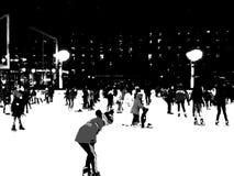 Η αίθουσα παγοδρομίας στο πάρκο 18 του Bryant Στοκ φωτογραφίες με δικαίωμα ελεύθερης χρήσης