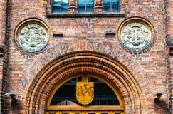 Η αίθουσα πόλεων Elsinore ή Helsingor - της Δανίας στοκ φωτογραφίες με δικαίωμα ελεύθερης χρήσης