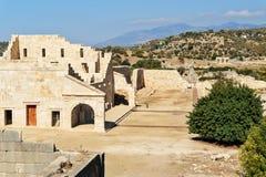 Η αίθουσα συνελεύσεων της ένωσης Lycian στην αρχαία πόλη Patara Τουρκία Στοκ φωτογραφία με δικαίωμα ελεύθερης χρήσης