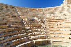 Η αίθουσα συνελεύσεων της ένωσης Lycian στην αρχαία πόλη Patara Τουρκία Στοκ εικόνα με δικαίωμα ελεύθερης χρήσης