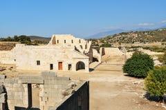 Η αίθουσα συνελεύσεων της ένωσης Lycian στην αρχαία πόλη Patara Τουρκία Στοκ εικόνες με δικαίωμα ελεύθερης χρήσης