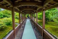 Η αίθουσα Hojo Tenryu-tenryu-ji στην περιοχή Arashiyama του Κιότο Στοκ Εικόνα