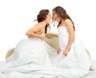 η αγάπη είναι διπλή έκθεση το ένα της έξω προσποιείται ότι το s εμφανίζει αδελφές αδελφών για να ζευγαρώσει Στοκ εικόνα με δικαίωμα ελεύθερης χρήσης
