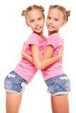 η αγάπη είναι διπλή έκθεση το ένα της έξω προσποιείται ότι το s εμφανίζει αδελφές αδελφών για να ζευγαρώσει Στοκ Εικόνες