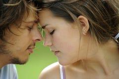 Η αγάπη είναι στον αέρα Στοκ Εικόνα