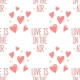 Η αγάπη είναι στο σχέδιο αέρα Στοκ Εικόνες