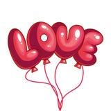 Η αγάπη επιγραφής απεικόνιση αποθεμάτων