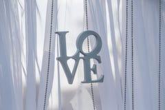 Η αγάπη επιγραφής Στοκ Φωτογραφίες