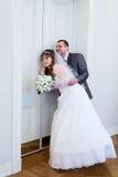 Η αγάπη μπροστά από τις πόρτες στοκ εικόνα