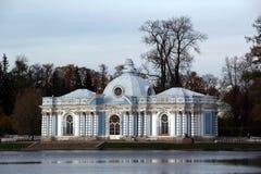 Η Αγία Πετρούπολη pushkin 24 της Catherine χλμ κεντρικών οικογενειών προηγούμενος αυτοκρατορικός αριστοκρατίας πάρκων της Πετρούπ Στοκ Φωτογραφίες