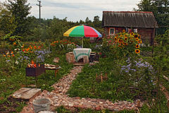 Η αγαπημένη θερινή κατοικία μου Στοκ Εικόνες