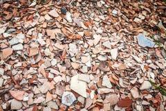 Η αγγειοπλαστική Shards σε Archeological σκάβει στην Τουρκία Στοκ φωτογραφία με δικαίωμα ελεύθερης χρήσης