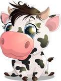 Η αγελάδα Στοκ εικόνα με δικαίωμα ελεύθερης χρήσης