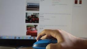 Η αγορά μέσα Ebay απόθεμα βίντεο