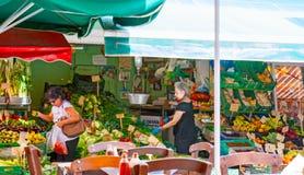 Η αγορά σε Ηράκλειο Στοκ φωτογραφία με δικαίωμα ελεύθερης χρήσης