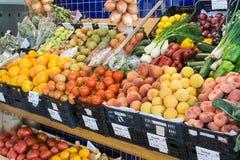 Η αγορά φρούτων στοκ φωτογραφίες